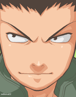 Shikamaru- The Deer by setsuna22
