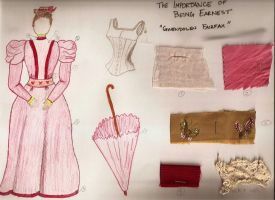 Gwendolen Fairfax: The Importance of Being Earnest by surrexi