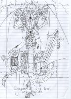 The Dragon of the End and Afterlife SAO OC Boss by HellsingDragoness