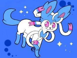 Shiny Sylveon by Raikou-K-9