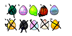 50 point half chibi egg adopts by Tempo-Beat-Desu