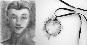 Necklace for Heart -- Shapely Faces Collection by Starlit-Sorceress