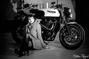 Cafe Racer - 1 by Makavelie