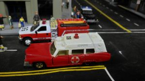Tomica Cadillac Ambulance by hankypanky68