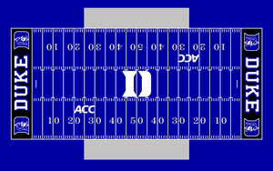 Duke all blue field by Chenglor55