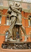 Kings Cross sculpture 1 by wildplaces