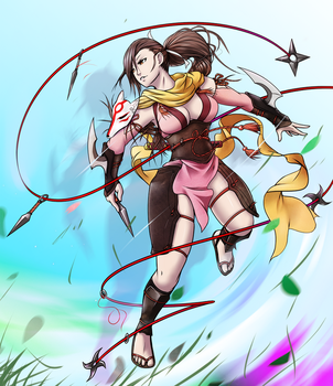 Kagero Hoshido by Outering