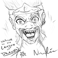 League of Draven by vicariousVisionary