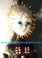 Pinhead Doll_close up by LilliamSlasher