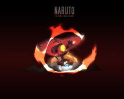 Naruto The Nine Tailed Beast by AndroniX