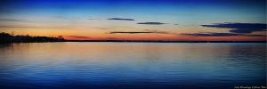 Day 2 Sunset at Lake Winnebago by NavahoMoon