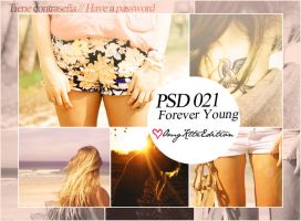 PSD 021 Forever Young by OmgKltzEdition