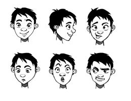 Character Expressions by nataliebeth