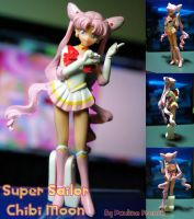 Custom Super Sailor Chibi Moon by PaulineFrench