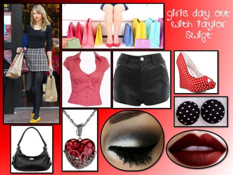 Girls Day Out With Taylor Swift by lovevampireboys