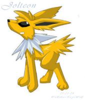 Collaboration - Jolteon by silvericywolf