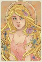 Rapunzel by xAniChanx