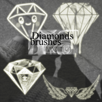 +Diamonds_brushes by ittsaboutime