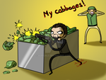 HIS CABBAGES!! by aurigale