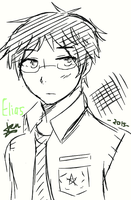 Elias (drawing test) by MakoTM