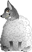 Wolf in Sheep's clothing. by Jolts-of-Blue