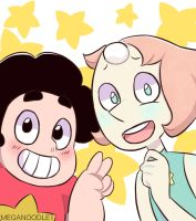 Steven And Pearl by Meganoodle1