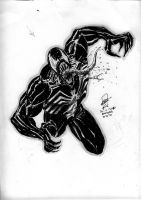 Venom - DrinkNDraw 17-4-2010 by SheldonGoh