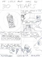 MLP Comic 32 30 Years by Megamink1997
