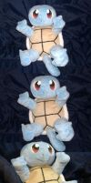 Squirtle Plushie V1 by Oniko40xg6