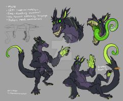 Monster Design by CorrosiveFool