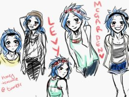 Levy McGarden sketch by Take-Kare