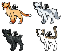 Tsc- Cat Adopts #2 by DevilsRealm