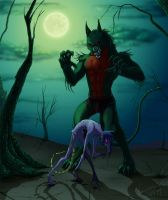 Infected vs Monster by Anastas-C