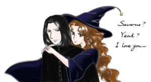 severus' love by danceindark
