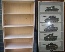Display Case for my 1/35 Tanks by 12jack12