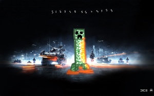 Creeper battlefield wallpaper by AtomicWarpin