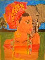 African art  by ommonu
