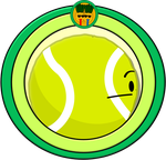 Object Crossovers (Series 2) #17: Tennis Ball by PlanetBucket22