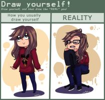 Meme - Draw yourself by Mayitow