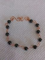 copper hematite bracelet by Wolf-Lady-bsparks85