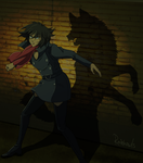 Epic Anime Characters || Blue by rainhowlspl