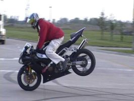Stoppie by beezer
