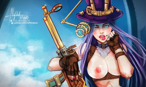 League of Legends: Caitlyn NSFW Version by Hassly