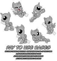 Pay2Use Chibi Pony Bases: PLEASE READ DESCRIPTION by XNightMelody