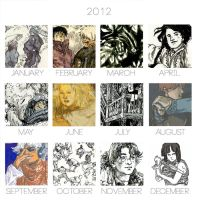 2012 Art Summary by Pen-scribble
