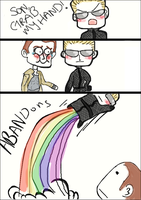 Son, grab my hand! by MagnificentMacabre
