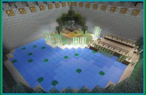 Little Minecraft Oasis by MAGAngel
