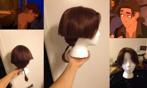 Jim Hawkins Treasure Planet Wig Commission by TemaTime