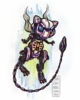 Steam-Powered Pokemon: Mew by jbrenthill