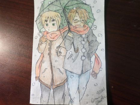 .: UsUk-Winter:. by Kaitolover253